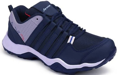 Clymb Blue Light Weight with Eva Sole material Sport Running Shoes For Men(Navy)