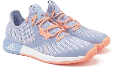 online retailer 10630 54f03 38% OFF on ADIDAS ADIZERO DEFIANT BOUNCE W Tennis Shoes For Women(Blue,  Orange) on Flipkart  PaisaWapas.com