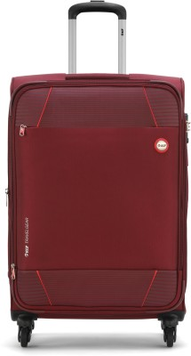 VIP CONQUER 4W EXP STROLLY 59 WINE RED Expandable  Check-in Luggage - 23 inch(Red)