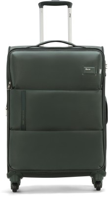 VIP WALTZ 4W EXP STROLLY 56 OLIVE Expandable  Cabin Luggage - 22 inch(Green)