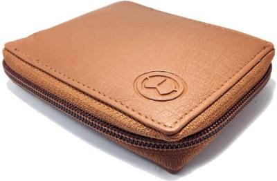 TnW Men Tan Artificial Leather Wallet 3 Card Slots