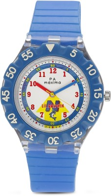 Maxima 04465PPKW FIBER Analog Watch For Kids