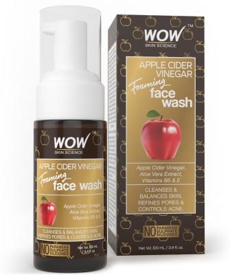 WOW SKIN SCIENCE Apple Cider Vinegar Foaming Face Wash