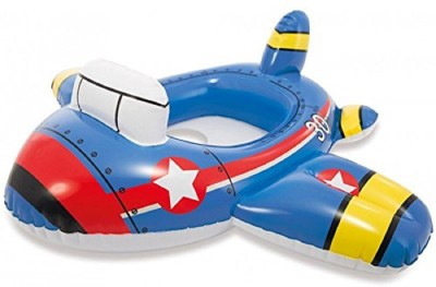 skky bell premium kiddie floats plane shape for (age 3 to 10 ) memorable gift for kids(DESIGN MAY CHANGE) Inflatable Pool Accessory(blue)  available at flipkart for Rs.699
