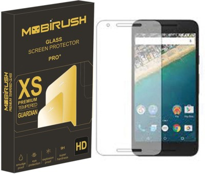 MOBIRUSH Tempered Glass Guard for LG Nexus 5X(Pack of 1)