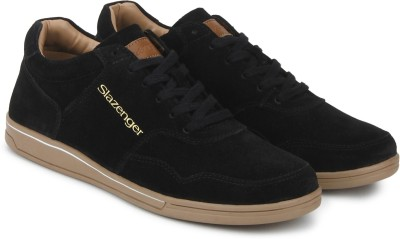 Slazenger Sego Sneakers For Men(Black) at flipkart