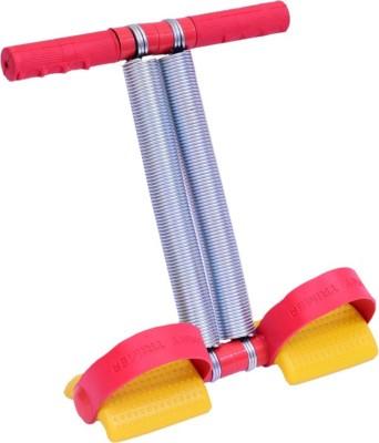 Shopping World Tummy Trimmer Double Spring -Waist Trimmer-Abs Exerciser-Body Toner-Fat Buster- Multipurpose Fitness Equipment for Men and Women Ab Exerciser(Yellow)