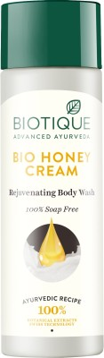 Biotique Bio Honey Cream Rejuvenating Body Wash(190 ml)