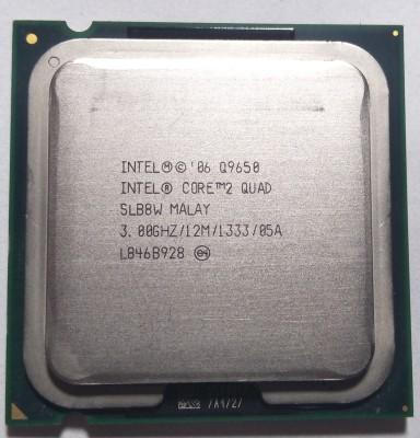 Intel 3.0 LGA 775 Core 2 Quad Q9650 Processor(Silver)