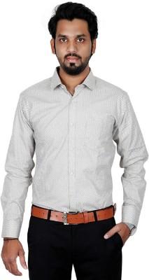 BLACK N WHITE Men Printed Formal Shirt