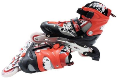 indmart bx12 In-line Skates - Size 6-8 UK(Multicolor)