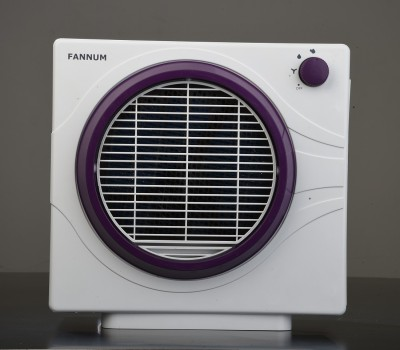 fannum Comfy Cooler Personal Air Cooler(white and purple, 2 Litres)