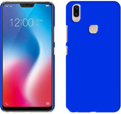 Case Creation Back Cover for Vivo V9(DARK ROYAL BLUE, Dual Protection, Plastic)