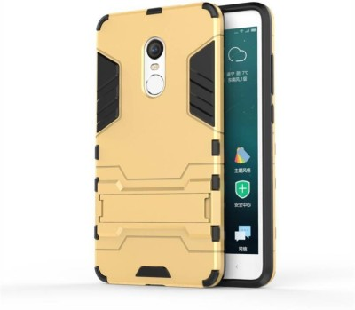 MOBCART Back Cover for Mi Redmi Note 4 Gold