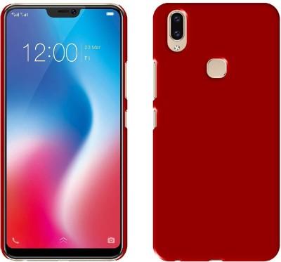 Case Creation Back Cover for Vivo V9(MAROON WINE RED, Grip Case, Plastic) Flipkart