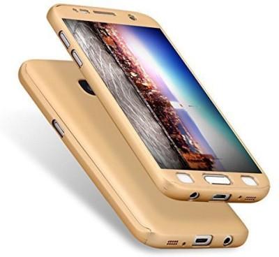 Johra Front & Back Case for Motorola Moto E3 Power(Gold, Dual Protection)