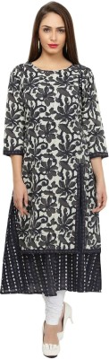 VEDANA Casual Floral Print Women Kurti(Pack of 2, Multicolor)