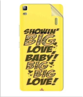 Snooky Lenovo K3 Note Mobile Skin Transparent