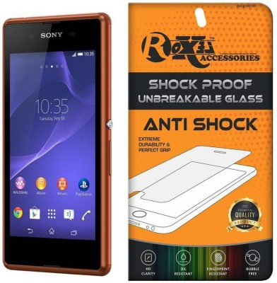 Roxel Screen Guard for Sony Xperia E3 (Copper, 4 GB)(Pack of 1)