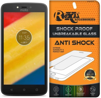 Roxel Screen Guard for Motorola Moto C Plus(Pack of 1)
