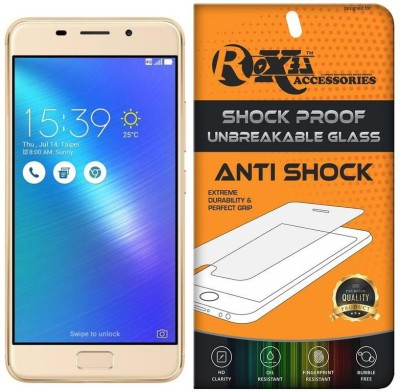 Roxel Screen Guard for Asus Zenfone 3s Max (Gold, 32 GB)(Pack of 1)