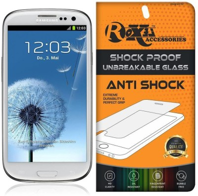 Roxel Screen Guard for Samsung Galaxy S3(Pack of 1)