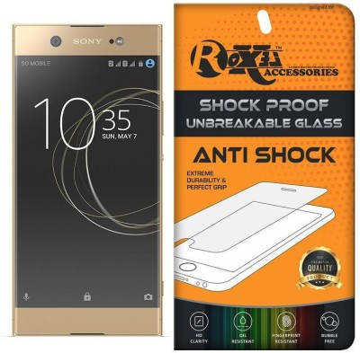 Roxel Screen Guard for Sony Xperia XA1 Ultra Dual (Gold, 64GB)(Pack of 1)