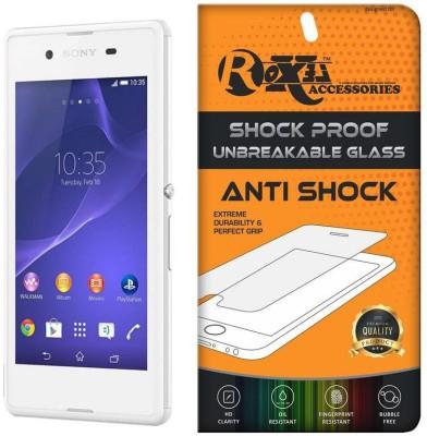 Roxel Screen Guard for Sony Xperia E3 (Dual SIM, White, 4GB)(Pack of 1)