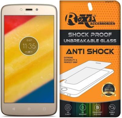 Roxel Screen Guard for Motorola Moto C Plus(Pack of 1)