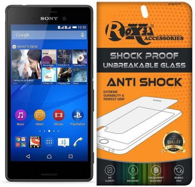 Roxel Screen Guard for Sony Xperia M4 Aqua(Pack of 1)