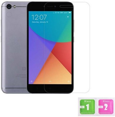 G R Mobile accessories Tempered Glass Guard for Xiaomi Redmi Y1 32GB(Pack of 2)