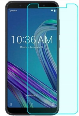 KrKis Tempered Glass Guard for Asus Zenfone Max Pro M1(Pack of 1)