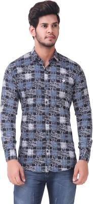 Wolgun Men's Printed Casual Shirt