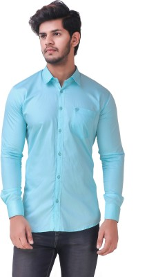 Wolgun Men's Solid Casual Shirt