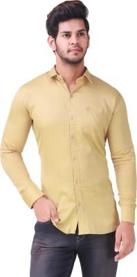 Wolgun Men Solid Casual Shirt