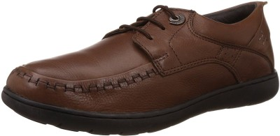 Lee Cooper Men Lace Up Shoes For Men(Brown) at flipkart
