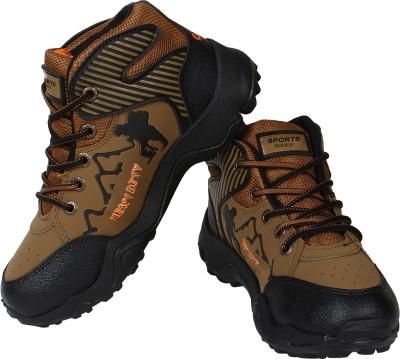 Earton Hiking & Trekking Shoes For Men(Multicolor) 1