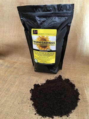 VibeX ™Lab Certified Worm Farm Real Worm Compost ™Lab Certified Worm Farm Real Worm Compost Soil Manure(0.5 kg Powder)