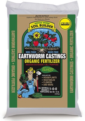 VibeX ™Wiggle Worm Soil Builder Earthworm Castings Organic Fertilizer Lab Certified ™Wiggle Worm Soil Builder Earthworm Castings Organic Fertilizer Lab Certified Soil Manure(0.5 kg Powder)