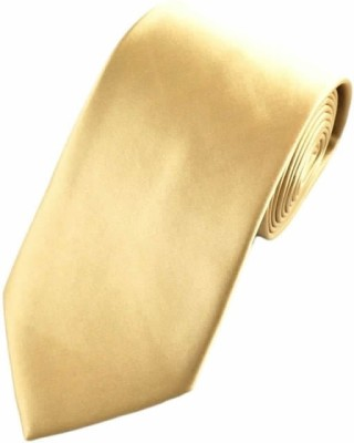 Hind Home Classy Formals and Party Creame Solid Men Tie