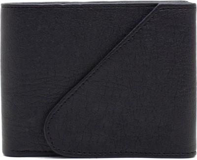 Nietz Boys Black Artificial Leather Wallet 6 Card Slots
