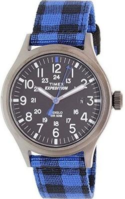 Timex Black19416 Timex Mens Analog Casual Quartz Watch NWT TW4B02100 Watch  - For Men & Women