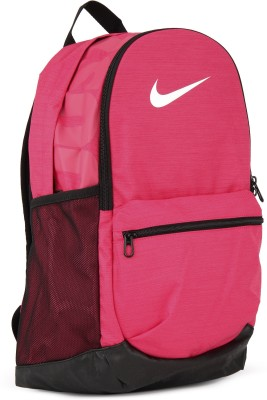 Nike NK BRSLA M BKPK 24 L Backpack(Black, Pink)