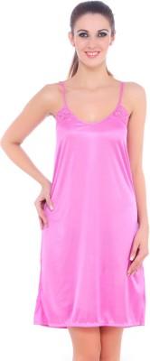 Fasense Women Nighty(Pink)