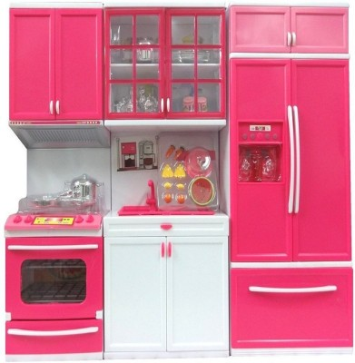 52 Off On Magnifico 3 Piece Kitchen Set For Girls Battery Operated