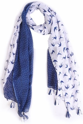Ziva Fashion Printed COTTON Women's Stole