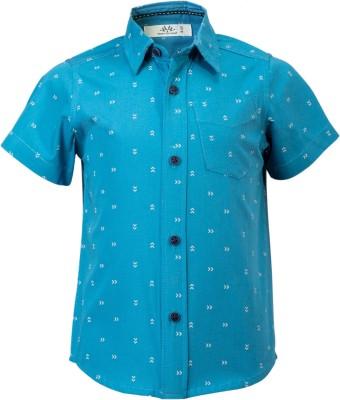 WYW Boys Printed Casual Shirt