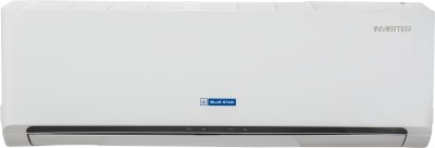 Blue Star 1.5 Ton 3 Star BEE Rating 2018 Inverter AC  - White(BI-3CNHW18WAFU/BO-3CNHW18WAFU, Copper Condenser)   Air Conditioner  (Blue Star)