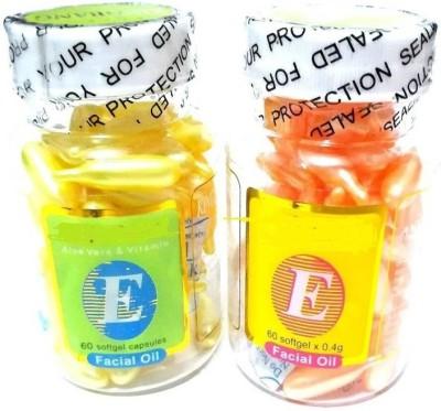 JEFFY Facial Oil Capsules-2 Bottel (120 Capsules) (120 g)(60 g)  available at flipkart for Rs.399