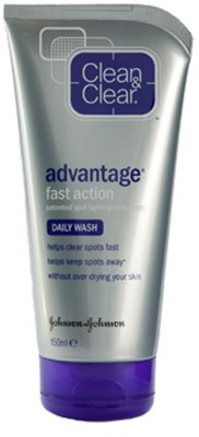 Clean & Clear Clear Advantage Daily Wash Fast Action Daily Wash Face Wash(150 ml)